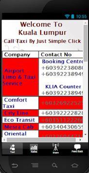 KL Call Taxi screenshot 1