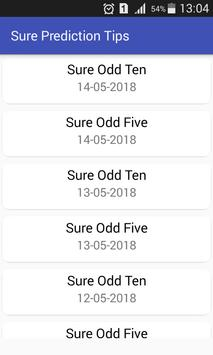Sure Prediction Tips for Android - APK Download