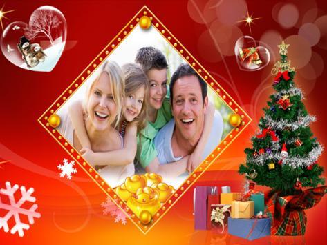 Christmas Photo Frame Maker poster