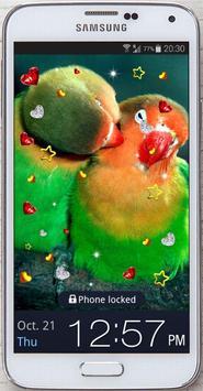 Birds Love live wallpaper screenshot 2
