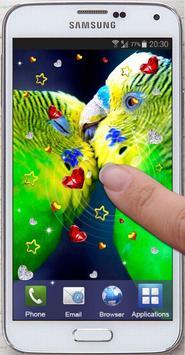 Birds Love live wallpaper screenshot 3