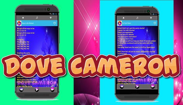 Music & Lyric Dove Cameron screenshot 1