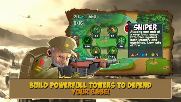 Tower Defense: Clash of WW2 apk screenshot
