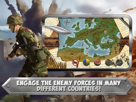 WW2 Frontline Battlefield TD apk screenshot