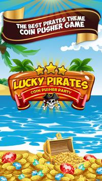 Lucky Pirates Coin Pusher Party poster