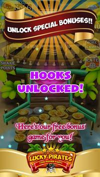 Lucky Pirates Coin Pusher Party screenshot 13