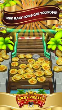 Lucky Pirates Coin Pusher Party screenshot 1