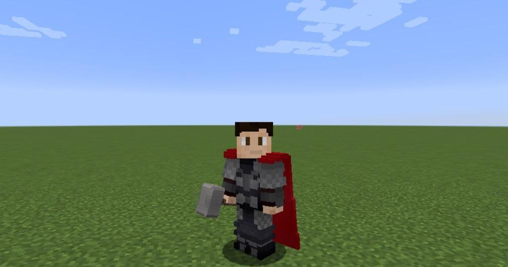 Heroes Expansion Mod (SuperPowers in Minecraft) for Android