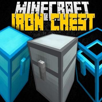 Iron Chests Mod for MCPE poster