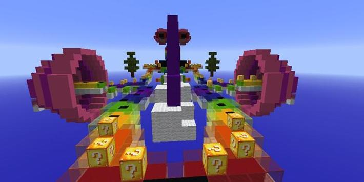 Rainbow world lucky block race map for mcpe for android apk download rainbow world lucky block race map for mcpe screenshot 4 gumiabroncs Gallery