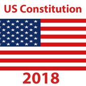 US Constitution and Quiz icon