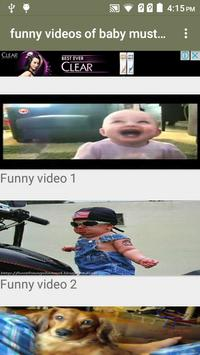 Funny Videos of Baby poster
