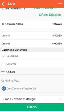 Doydum Yemək Sifarişi screenshot 12