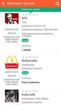 Doydum Yemək Sifarişi screenshot 1