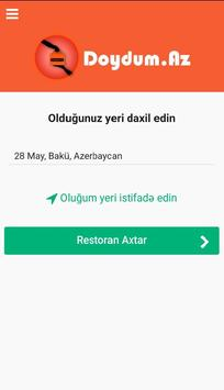 Doydum Yemək Sifarişi screenshot 7