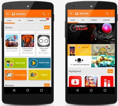 Aptoide Market Pro screenshot 1