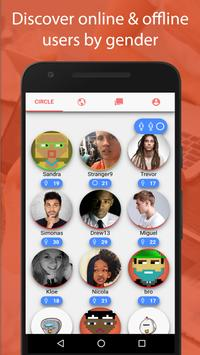 Circle - Anonymous Chat, Private Messaging apk screenshot
