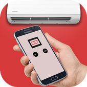 Air conditioner remote control ريموت المكيف icon