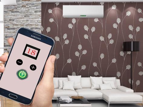 Air conditioner remote control ريموت المكيف apk screenshot