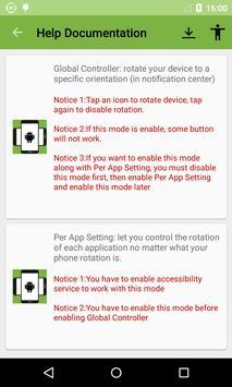 Screen Rotation Controller apk screenshot