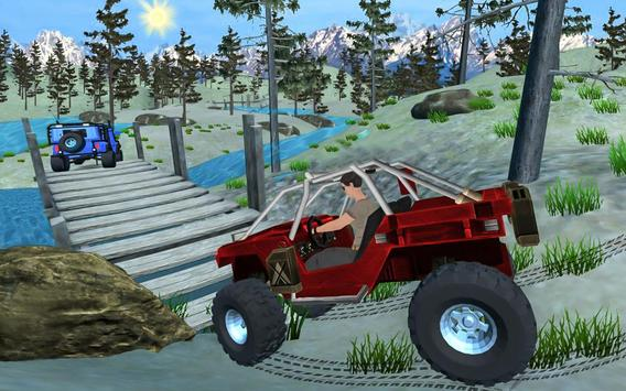 Off road 4x4 Jungle Adventure Drive apk screenshot