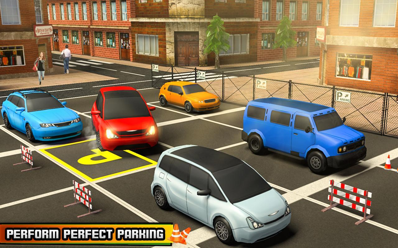 car parking games play for free