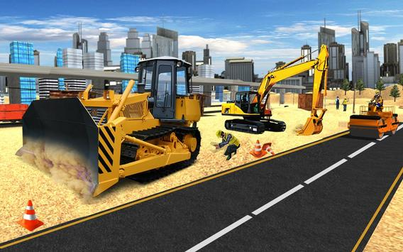 city road construction games 2018 new road builder for android apk