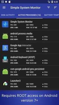 Simple System Monitor screenshot 6