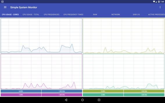 Simple System Monitor screenshot 8
