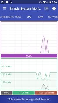 Simple System Monitor screenshot 1