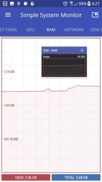 Simple System Monitor screenshot 2