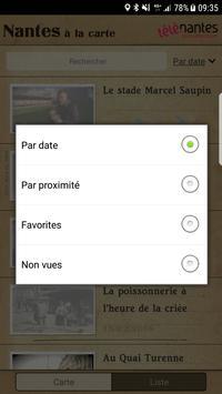 Nantes à la carte apk screenshot