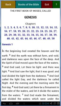 Easy KJV Bible apk screenshot