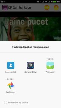 Gambar DP Lucu apk screenshot
