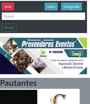 Directorio Proveedores de Eventos DPE poster