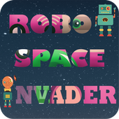 Robot Space Invader icon