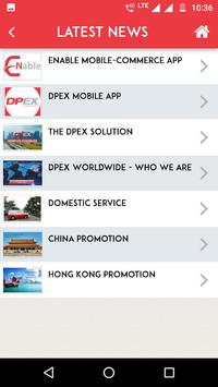 DPEX screenshot 2
