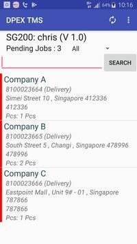 DPEX TMS ASIA screenshot 1