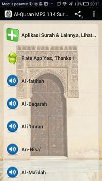 Al-Qur'an MP3 114 Surah Full screenshot 2