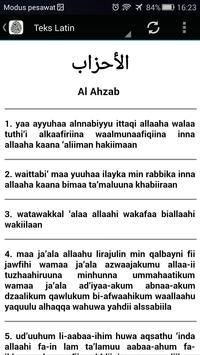 Surah Al-Ahzab & Terjemahan apk screenshot