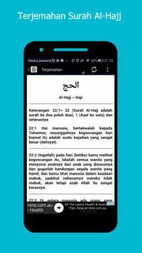 Surah Al-Hajj & Terjemahan screenshot 4