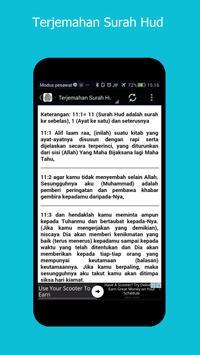 Surah Hud & Terjemahan screenshot 4