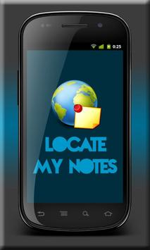 Locate My Notes poster