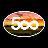 500px AdvancedConfig For Muzei icon