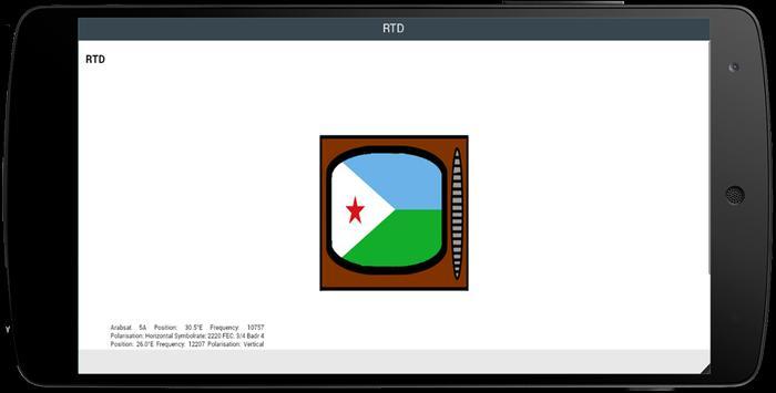 TV Channel Online Djibouti screenshot 1