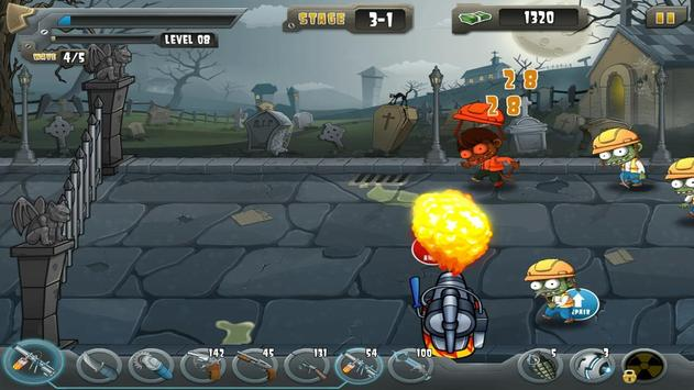 Zombie Defense apk screenshot