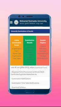 MLSU Exam Results And Notifications screenshot 1
