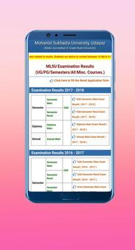 MLSU Exam Results And Notifications screenshot 2