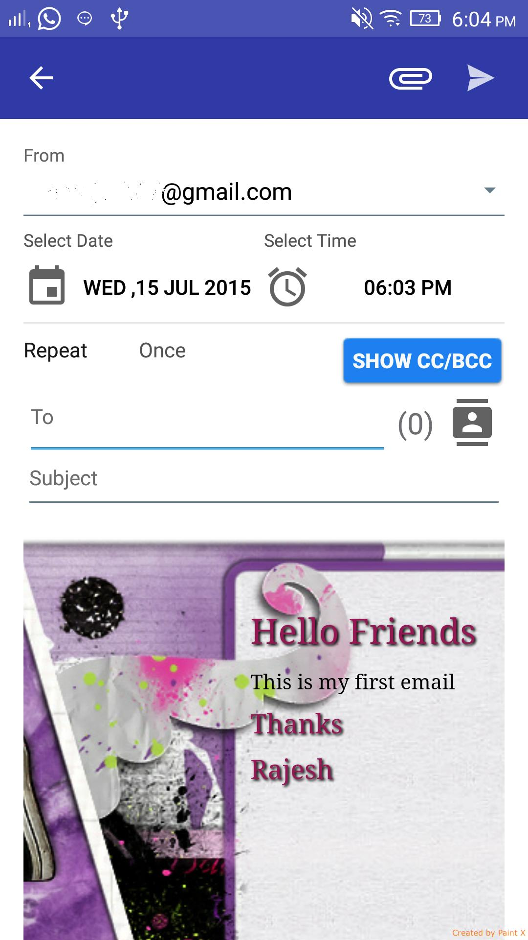 Auto E-mail Sender for Android - APK Download