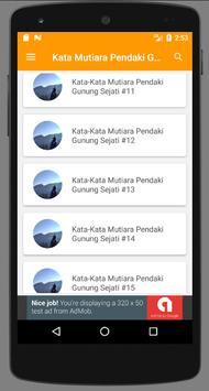 Kata Mutiara Pendaki Gunung Sejati Apk App Free Download